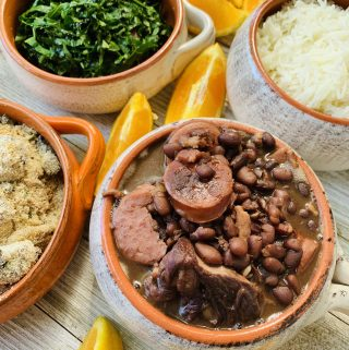 Feijoada with sides